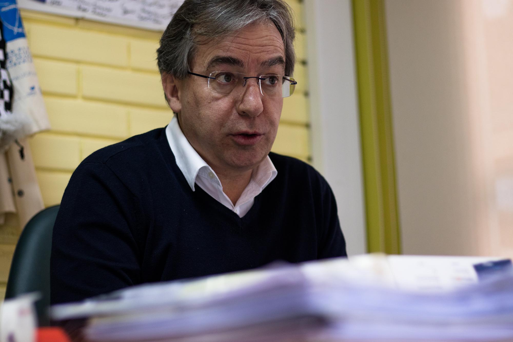 Filinto Lima fala sobre a flexibilização curricular na Escola Teixeira Lopes