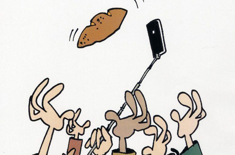 Cartoon vencedor, de Ronaldo Cunha Dias