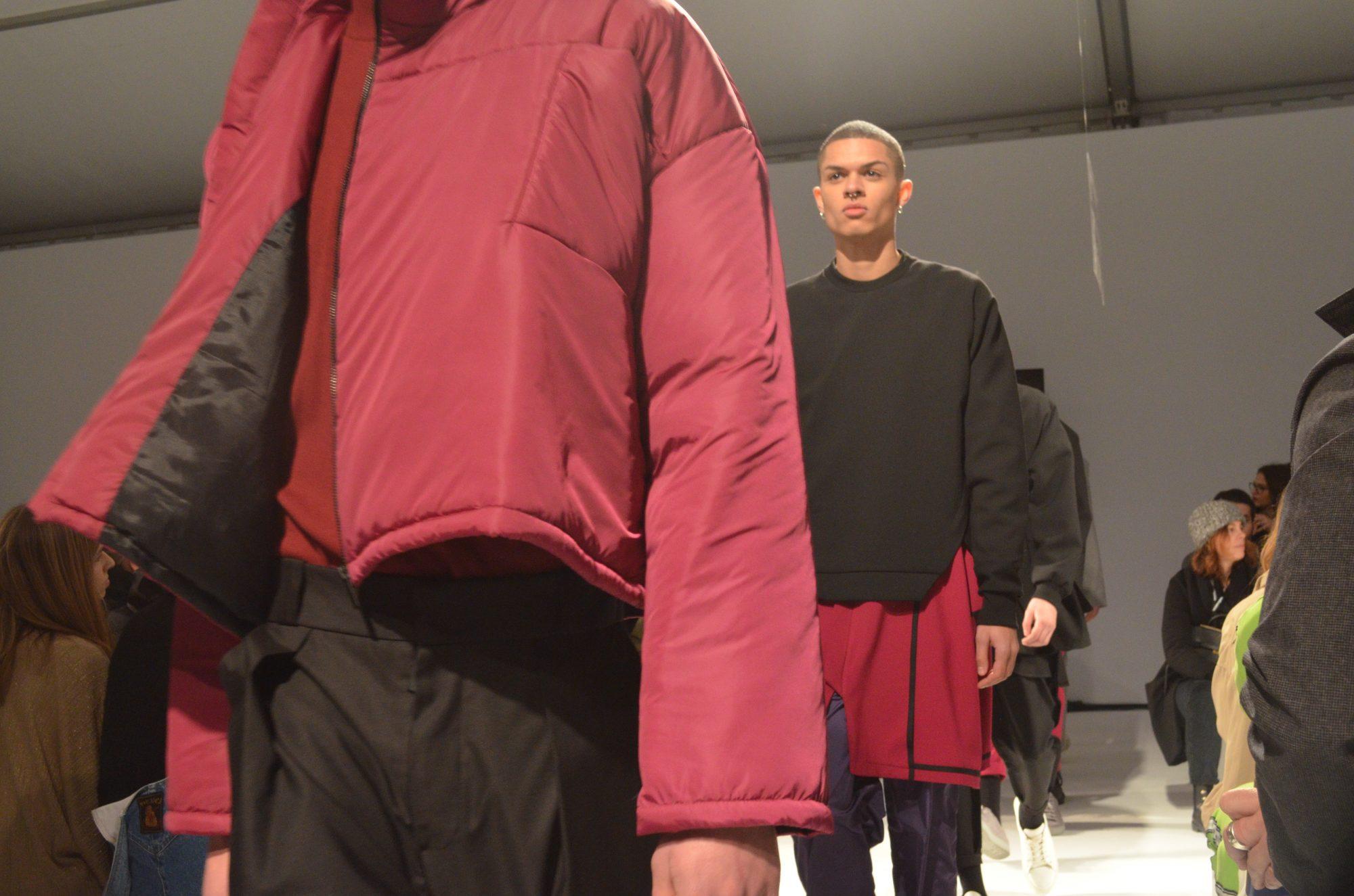 O Punk surge na coleção de Hugo Costa como uma manifestação individual.