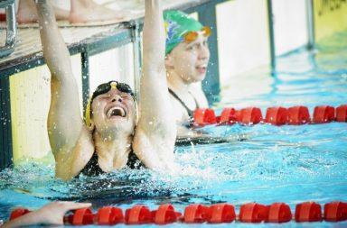 Ana Catarina Monteiro conseguiu os mínimos para o Mundial de piscina curta e superou o recorde nacional, em piscina longa, que pertencia a Sara Oliveira, desde Pequim 2008.