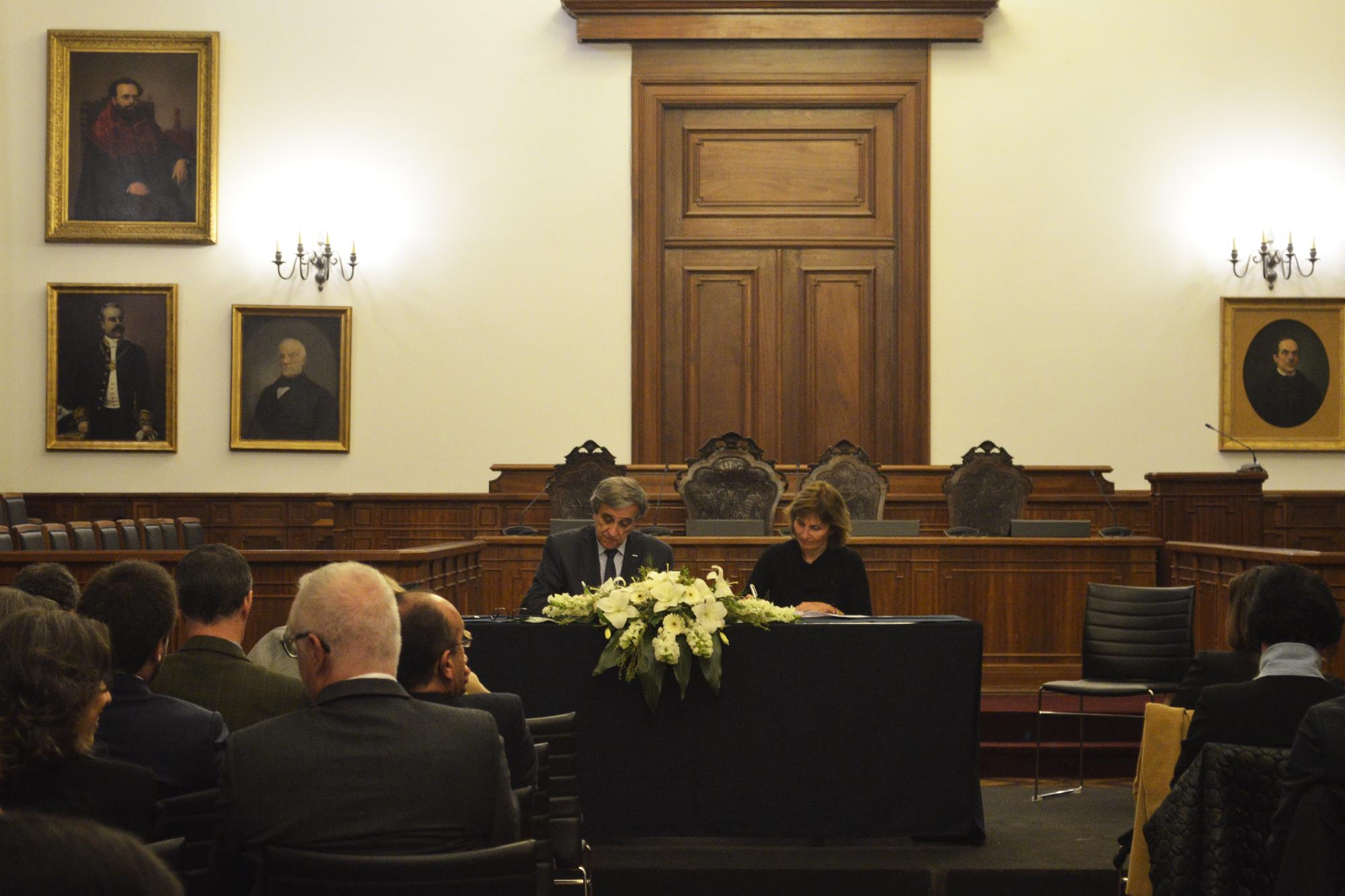 A vice-presidente Ana Maria Rodrigues representou Valongo.