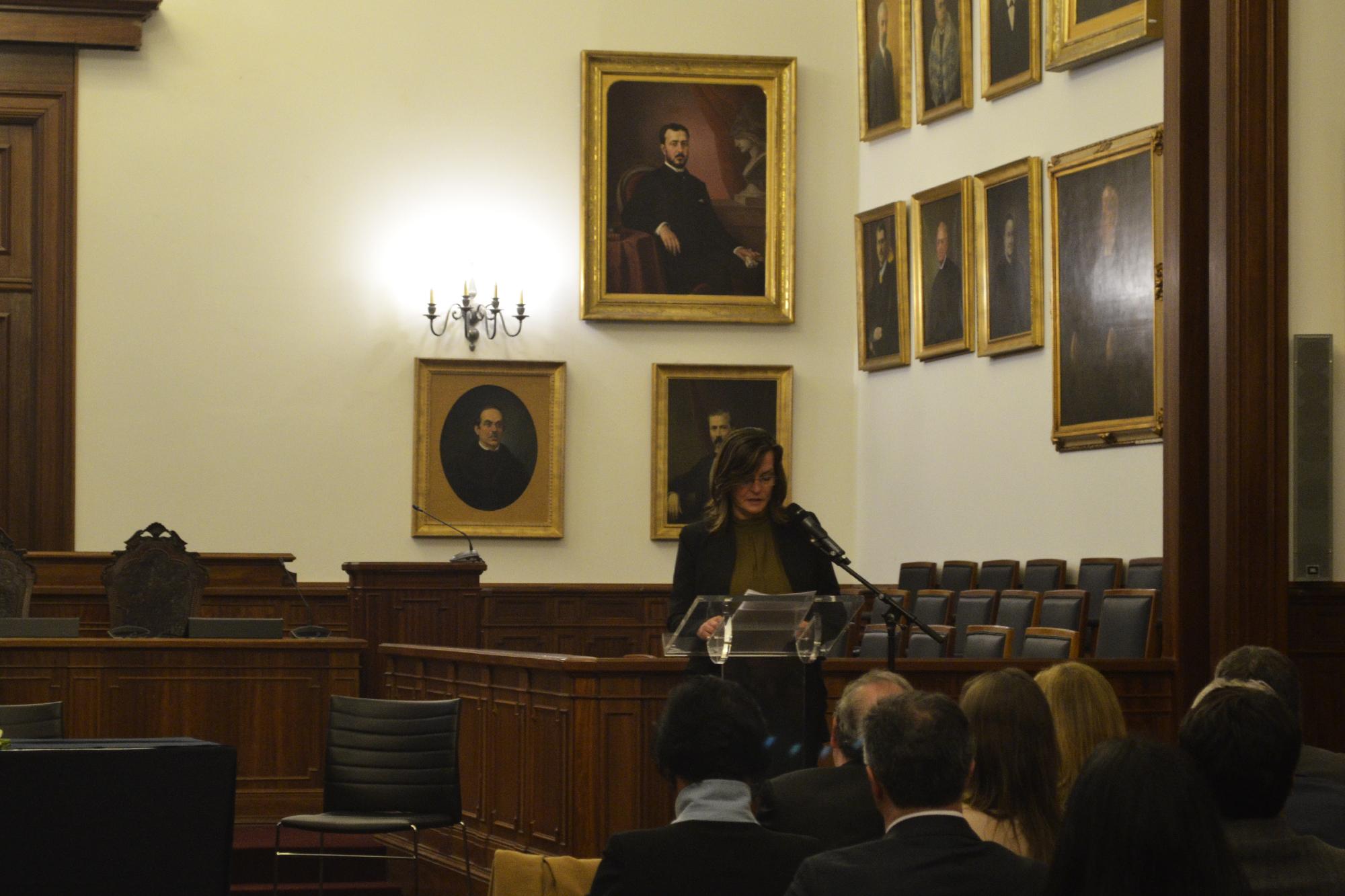 A presidente da Câmara de Castanheira de Pera foi a porta-voz dos municípios.