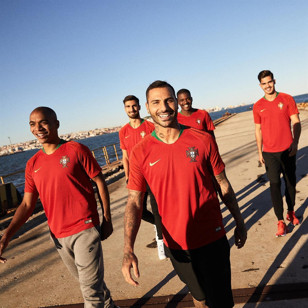 A seleção portuguesa já tem novos equipamentos.