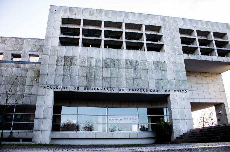 FEUP, fachada da Faculdade de Engenharia da Universidade do Porto