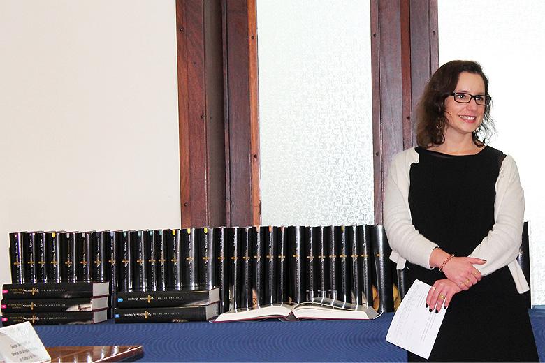 Maria Leonor Botelho, professora da FLUP, é uma das coordenadoras científicas do projeto.