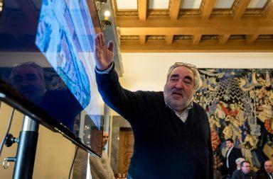 Eduardo Souto de Moura apresentou, esta terça feira, projeto para a Estação de Santo Bento, na reunião de Câmara do Porto.
