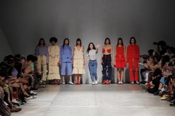 Rita Caravalho já apresentou duas coleções na plataforma associada ao Moda Lisboa, Sangue Novo.