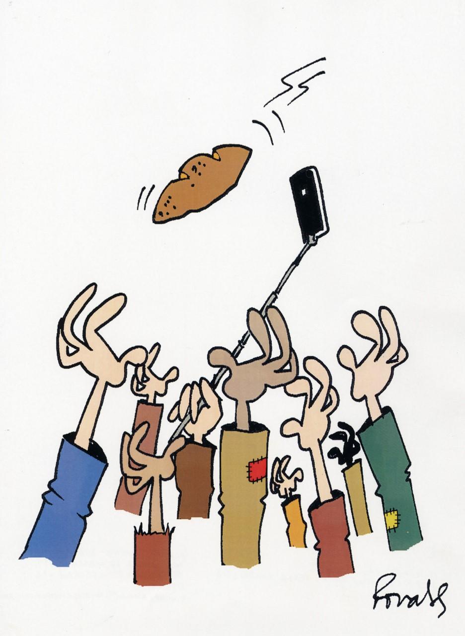 Cartoon de Ronaldo Cunha Dias