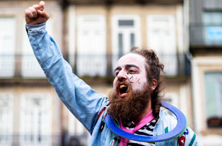 Do Norte ao Sul de Portugal, passando pelas ilhas, houve manifestações pelo aumento do financiamento à cultura.