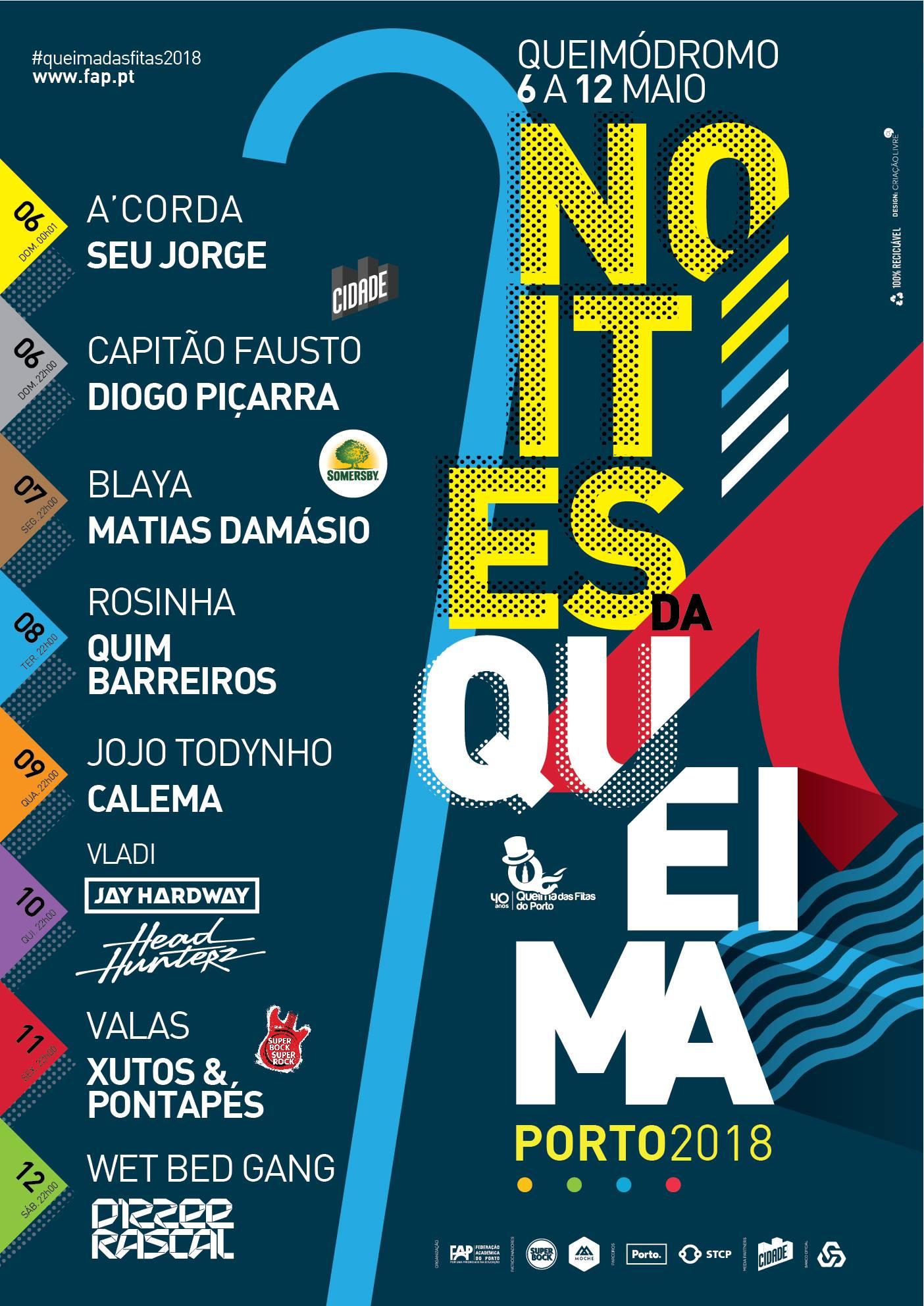 """""""Seu Jorge"""", """"Capitão Fausto"""" e """"Matias Damásio"""" são alguns dos destaques do cartaz deste ano."""