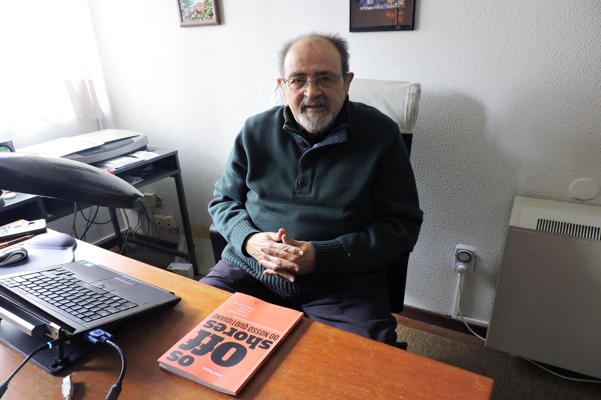 """""""Os Offshores do Nosso Quotidiano"""", de Carlos Pimenta, reúne questões que fizeram ao autor sobre o tema e dá-lhes resposta."""