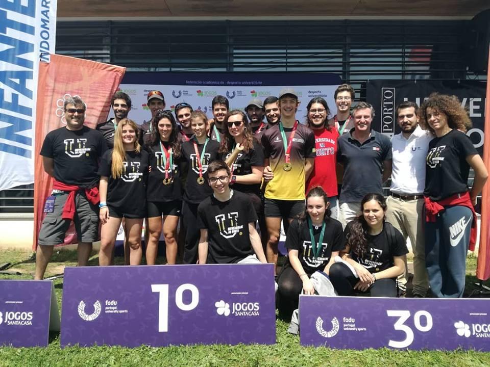 A UP sagrou-se campeã nacional de Remo nos Campeonatos Nacionais Universitários que decorreram, esta quarta-feira, nas instalações do Clube Naval Infante D. Henrique, em Valbom.