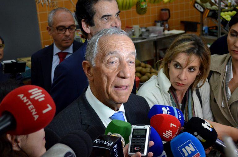 À comunicação social, Marcelo Rebelo de Sousa falou do caso de Manuel Pinho, dos incêndios, da eutanásia e da greve no SNS.