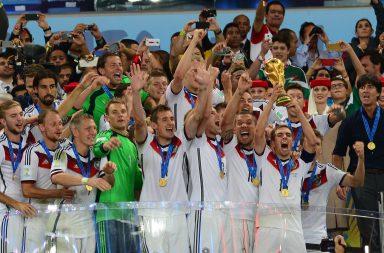 A Alemanha conquistou em 2014 o 4º título mundial depois de 1954, 1974 e 1990.