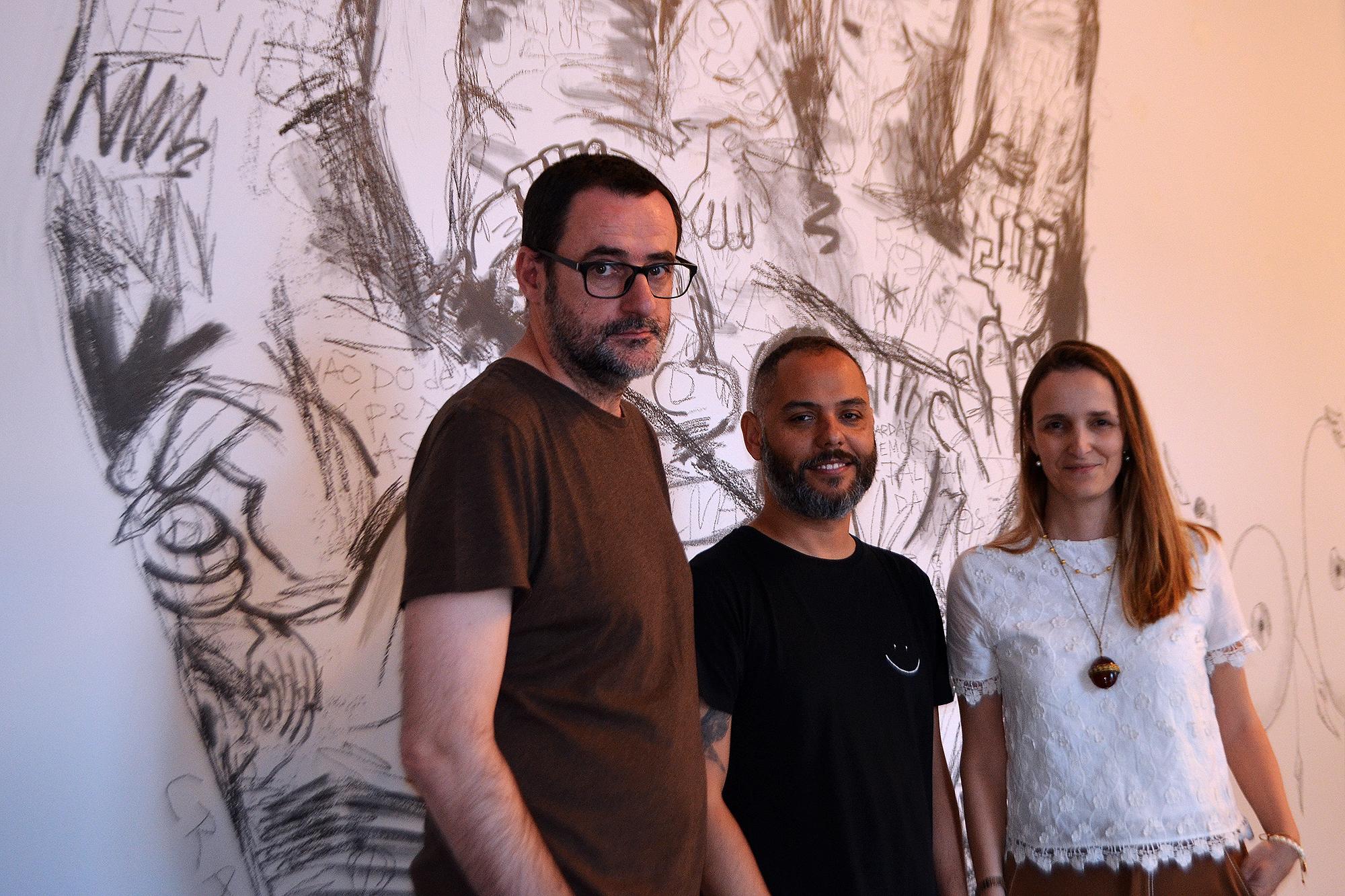 Rui Vitorino Santos, Júlio Dolbeth e Emília Dias Costa