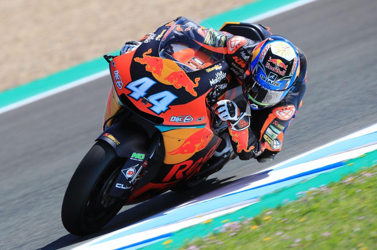 Miguel Oliveira foi o segundo mais rápido em Jerez de la Frontera.