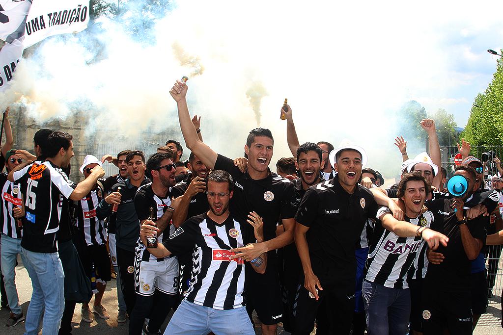O Nacional da Madeira festejou a promoção e o título de campeão da Segunda Liga.