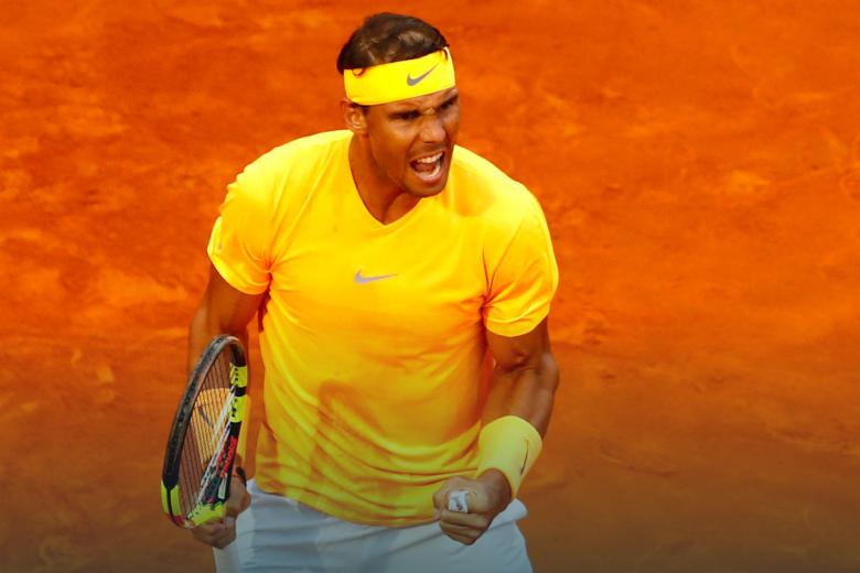 Rafael Nadal conquistou Mastrs 1000 de Roma pela oitava vez.