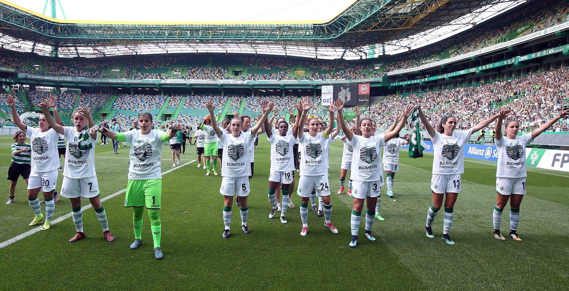 O Sporting tem dominado o futebol feminino desde que regressou à modalidade.