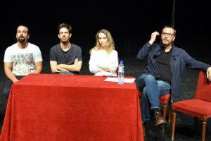 Bruno Machado, Bruno Martins, Liliana Moreira e Pedro Aparício fizeram a apresentação.