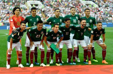 México assume para já a liderança do grupo F.