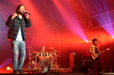 Gabriel, O Pensador protagonizou o concerto da noite.