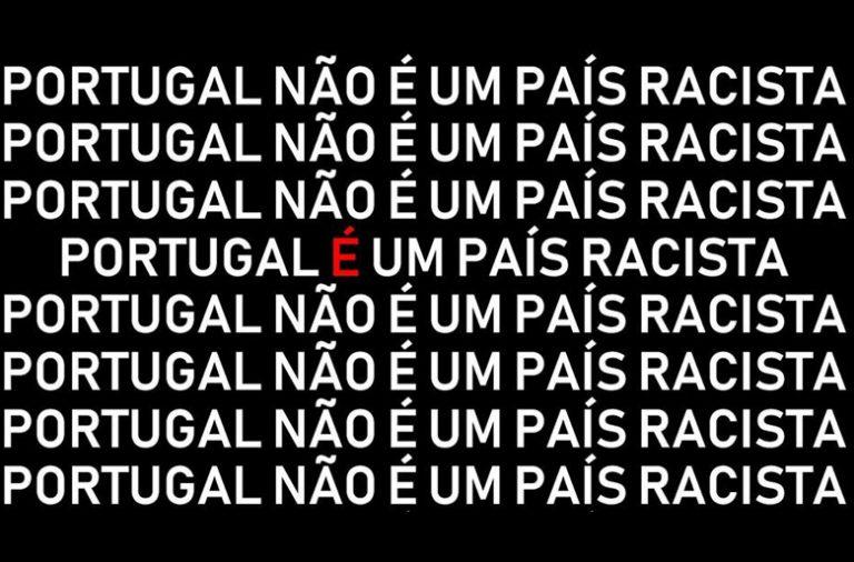 Imagem escolhida para ilustrar a Concentração contra o Racismo.