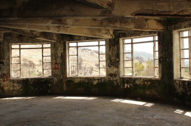 Imagem do interior do Sanatório de Mont'Alto