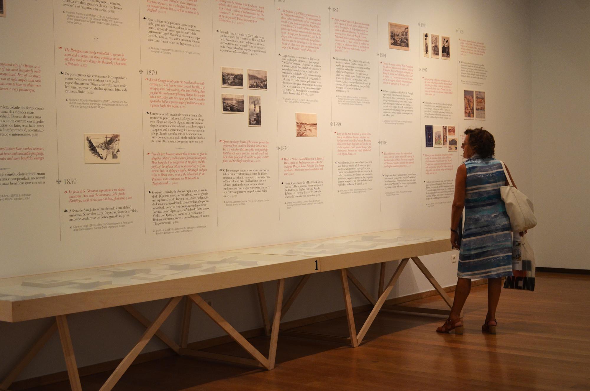 Exposição vai estar patente até 23 de setembro e está integrada na programação da Feira do Livro do Porto.