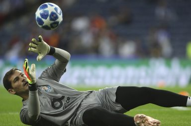 Casillas voltou a estar em bom plano.