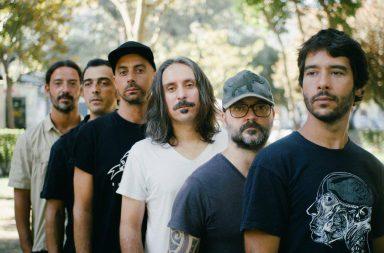 Jorge Cruz, ao centro, diz-se orgulhoso do percurso da banda formada em 2008.