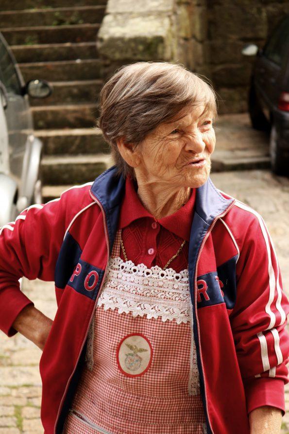 Vendedora da Sé que entra no filme de Filipe Martins.
