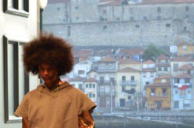 Estelita Mendonça abordou o tema da censura na sua coleção.