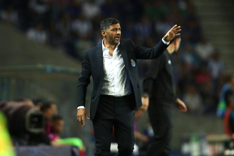 Sérgio Conceição era um treinador satisfeito no final.