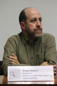 Miguel Soares coordena as redes sociais da Antena 1