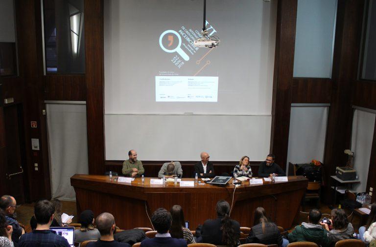 O Congresso Internacional de Ciberjornalismo decorreu a 22 e 23 de novembro na FLUP.