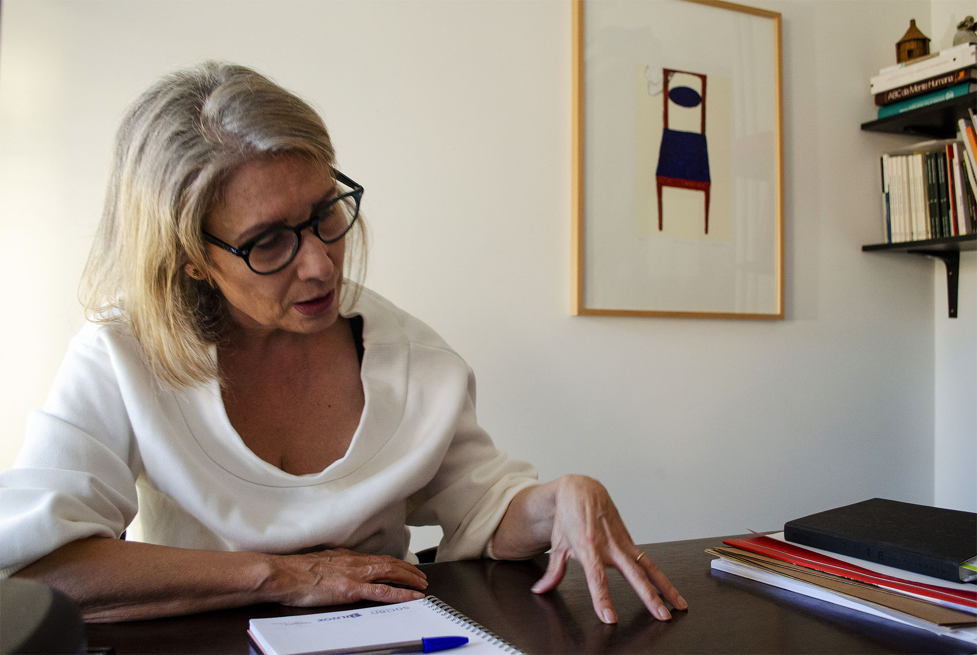 Adelaide Telles reconhece que o estigma sobre as patologias mentais diminuiu, mas não desapareceu.