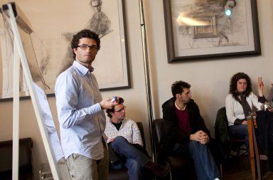 Tomás Carneiro em mais uma edição do Café Filosófico