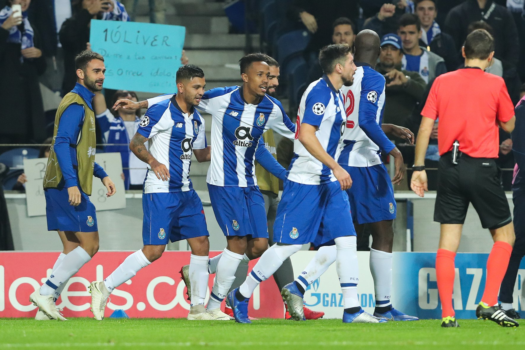 Éder Militão fez o primeiro ao serviço do FC Porto.