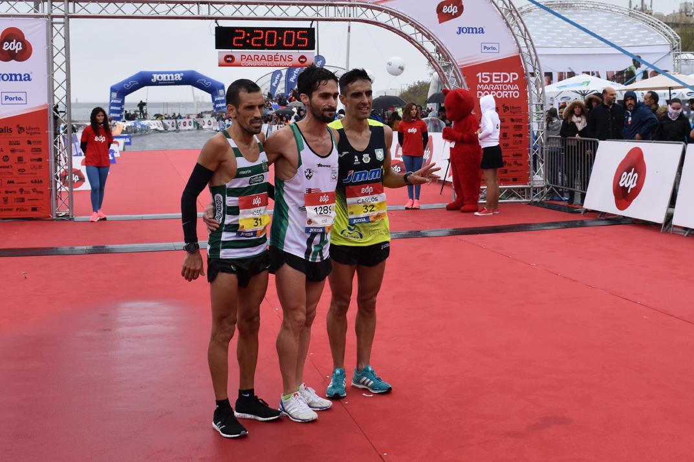 Da esquerda para a direita: José Moreira, Carlos Castro, José Sousa