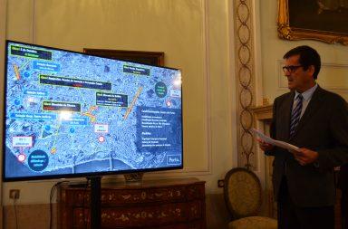 Rui Moreira apontou no mapa algumas das intervenções que a CMP tem em curso ou por iniciar.