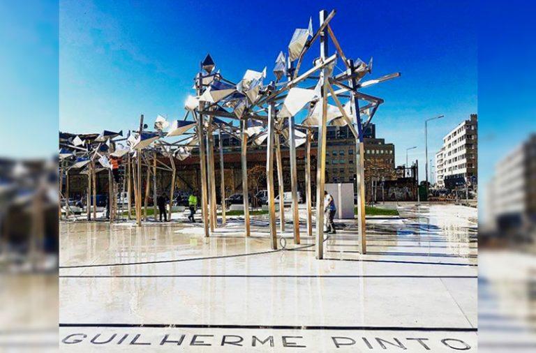 A nova Praça Guilherme Pinto é inaugurada no sábado.