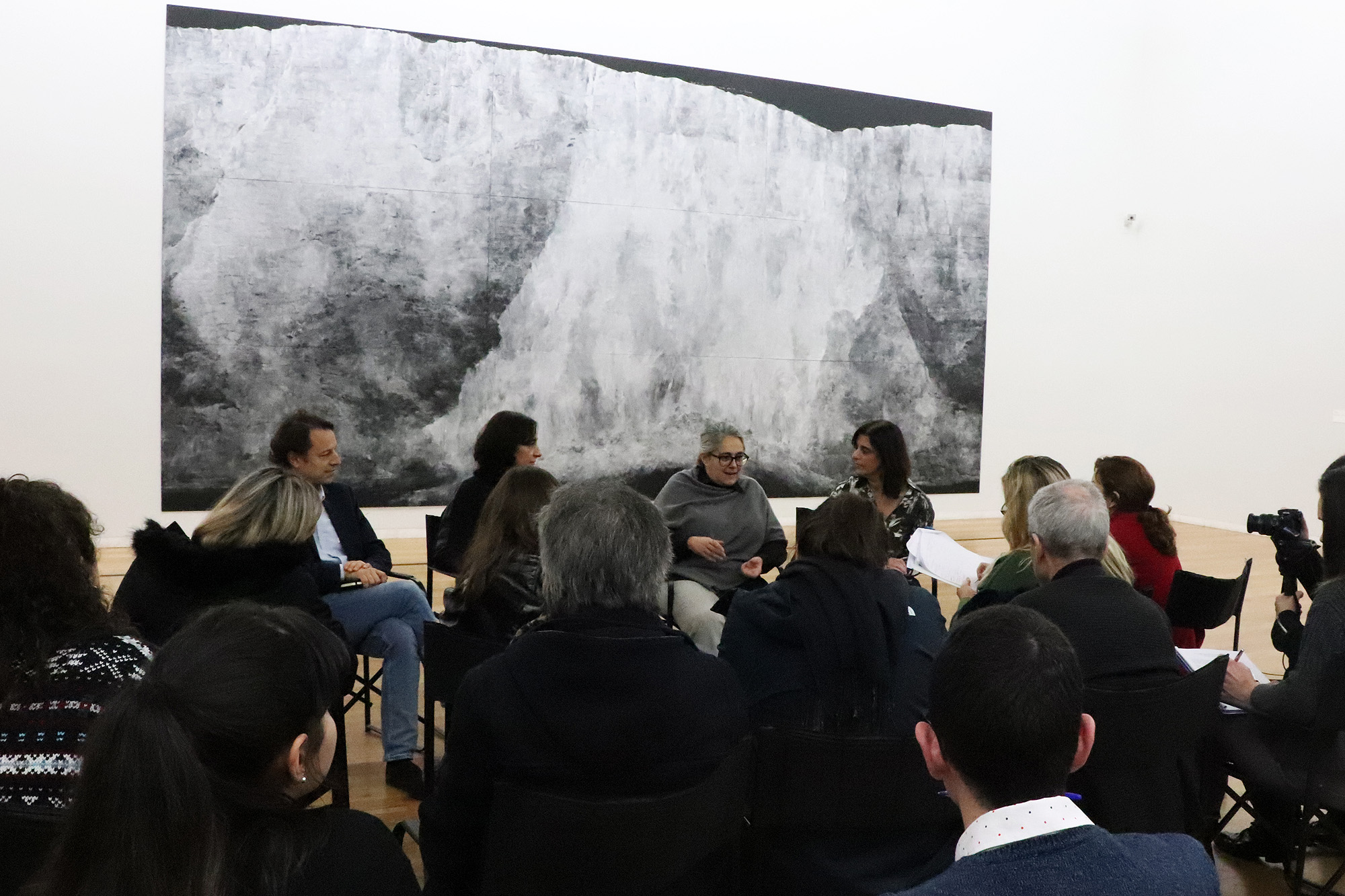 """Conferência de apresentação da exposição """"Tacita Dean"""""""