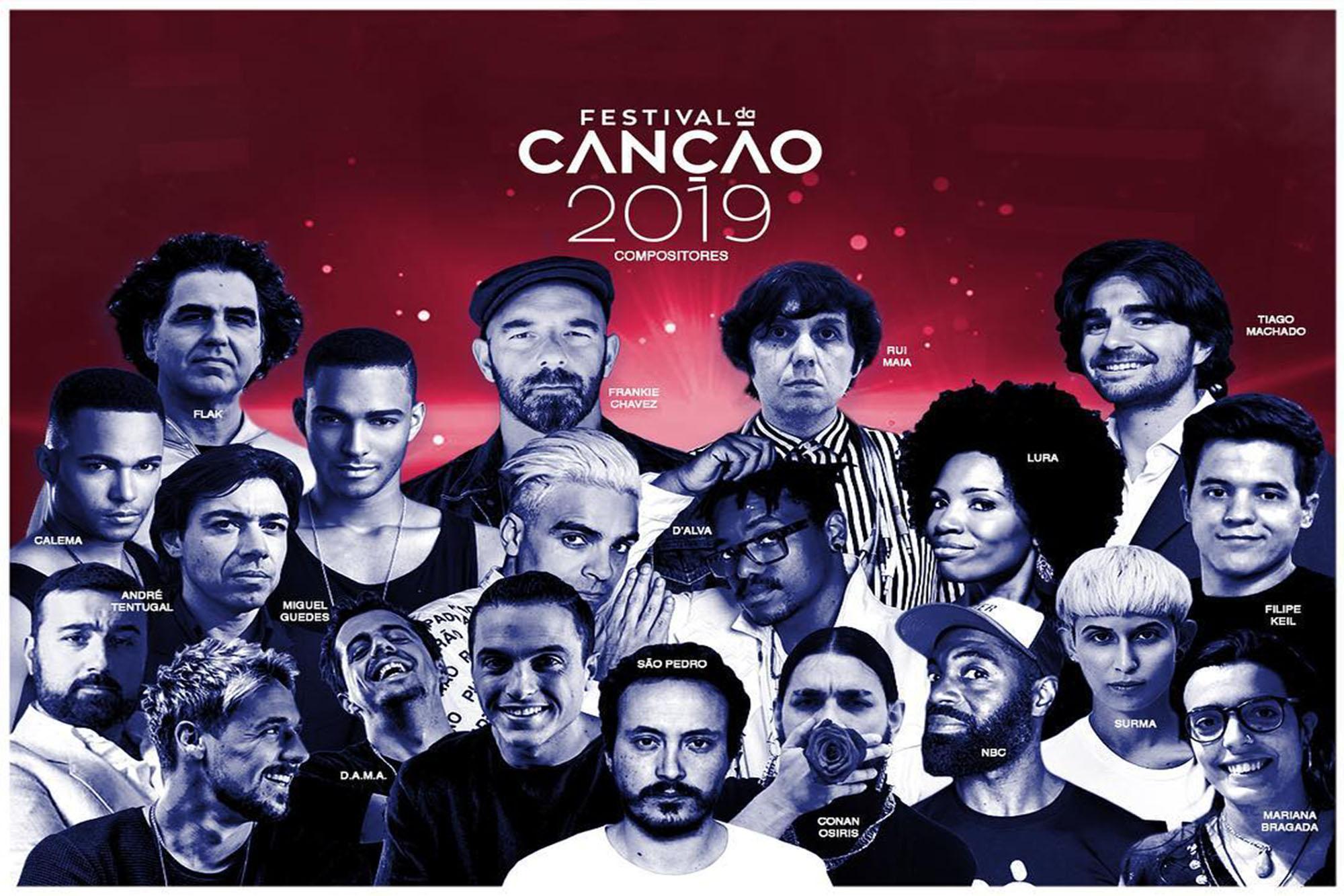 O Festival da Canção 2019 arranca já no sábado, com oito temas em disputa na primeira semifinal.