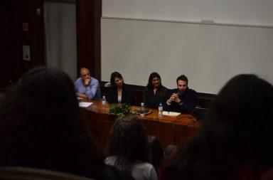 Pedro Mesquita, Rita Colaço, Vanessa Rodrigues e Miguel Midões foram os oradores da Conferência