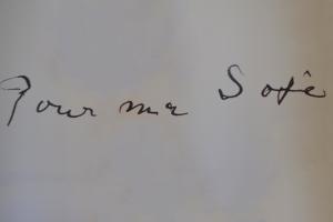 """""""Pour ma Sofie"""" pode ser visitada até dia 22 de fevereiro."""