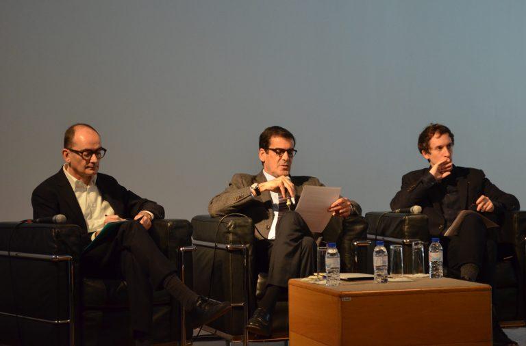 Rui Moreira anunciou a programação da Galeria Municipal, acompanhado de Miguel Coutinho e Guilherme Blanc.