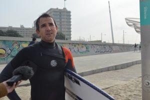 Rodrigo Silveira tem 45 anos e é advogado. Pratica surf há 30 anos.