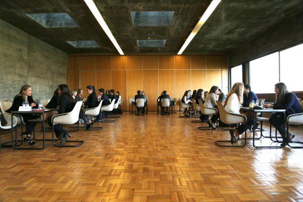 O speed recruitment é um dos pontos altos do FJC Porto de Emprego.