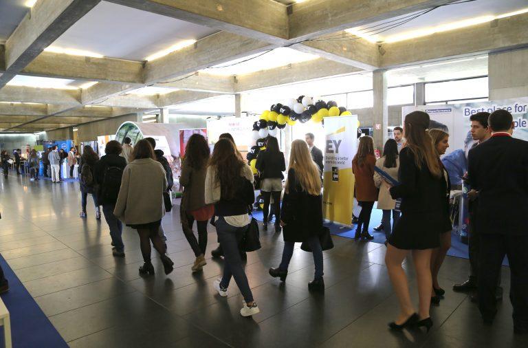 O FJC Porto de Emprego é a maior feira de emprego organizada por estudantes em Portugal.